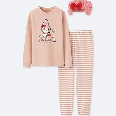 GIRLS SANRIO LONG SLEEVE Pyjama SWEAT SET