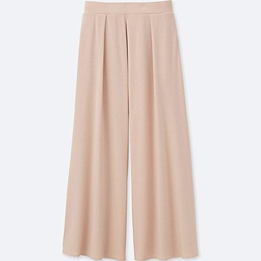 WOMEN Jersey Flare Trousers