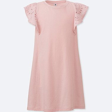 GIRLS Lace Short Sleeve Dress