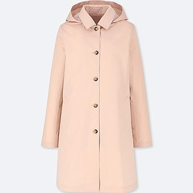 WOMEN BLOCKTECH SOUTIEN COLLAR COAT