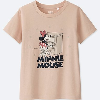 WOMEN SOUNDS OF DISNEY SHORT-SLEEVE GRAPHIC T-SHIRT, PINK, medium