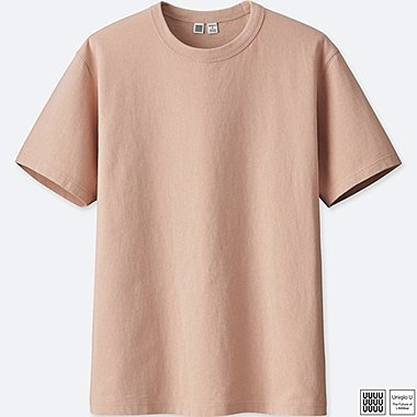 MEN UNIQLO U 100% cotton CREW NECK SHORT SLEEVE T-SHIRT