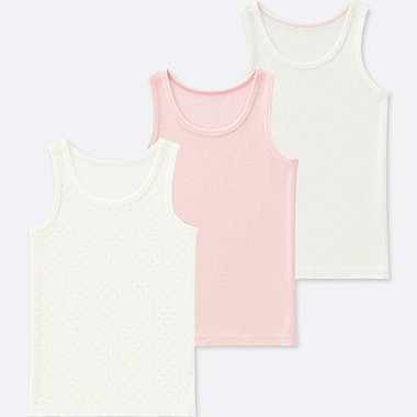TODDLER COTTON INNER TANK TOP (SET OF 3), PINK, medium