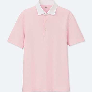 MEN AIRism SHIRT COLLAR POLO SHIRT