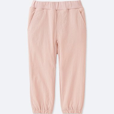 TODDLER STRETCH WARM-LINED PANTS, PINK, medium