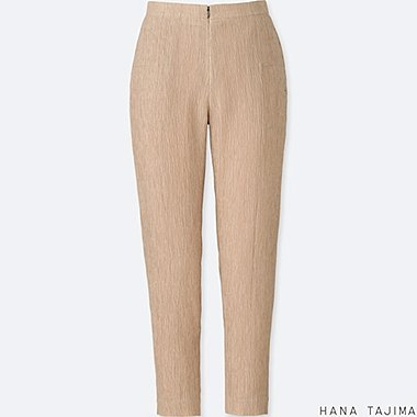 WOMEN HPJ CREPE TAPERED ANKLE LENGTH TROUSERS