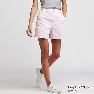 DAMEN SHORTS IN SATINOPTIK