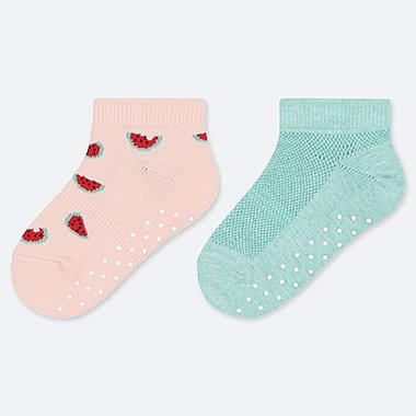BABY SHORT SOCKS (2 PAIRS), PINK, medium