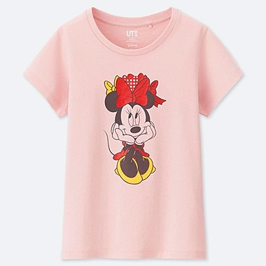 GIRLS CELEBRATE MICKEY SHORT-SLEEVE GRAPHIC T-SHIRT, PINK, medium