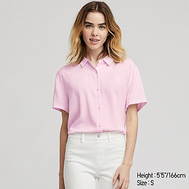 Women S Shirts And Blouses Uniqlo Us