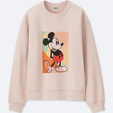 SWEAT SHIRT MICKEY ART MANCHES LONGUES FEMME