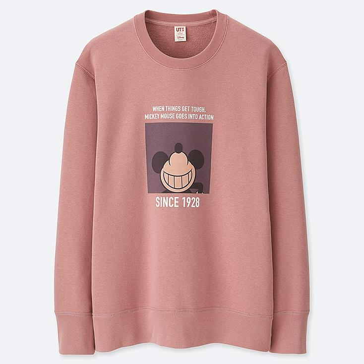 CELEBRATE MICKEY GRAPHIC SWEATSHIRT, PINK, large