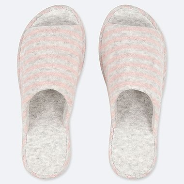 PILE-LINED SLIPPERS, PINK, medium