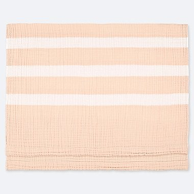 COTTON GAUZEKET (STRIPE), PINK, medium