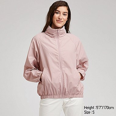 WOMEN STAND COLLAR BLOUSON