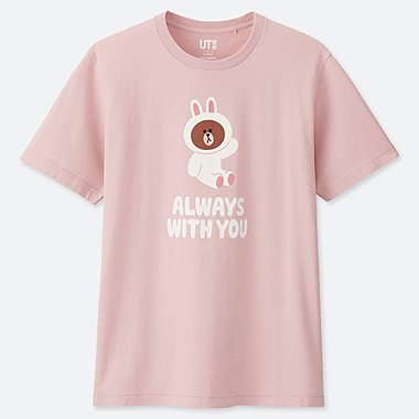 LINE FRIENDS GRAPHIC PRINT T-SHIRT