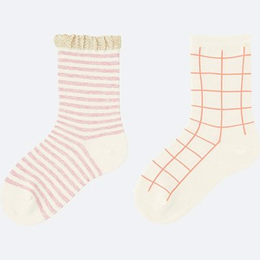 GIRLS Regular Socks - 2 Pairs
