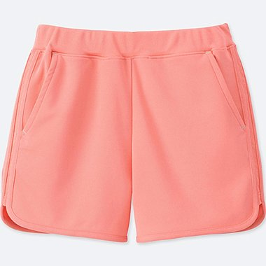 GIRLS DRY-EX SHORTS, PINK, medium