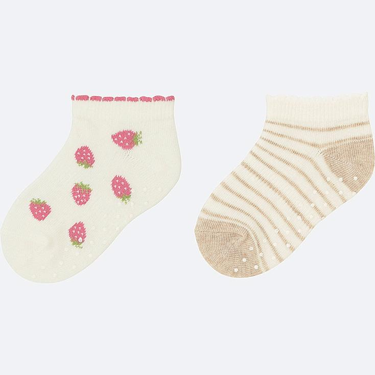 BABY SHORT SOCKS 2P, PINK, large