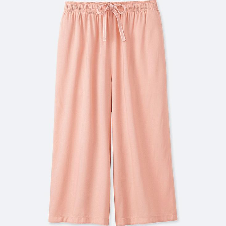 WOMEN RELACO 3/4 SHORTS (WIDE), PINK, large