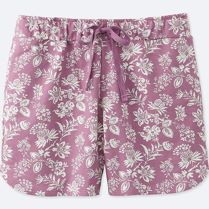WOMEN EPICE LOUNGE SHORTS, PINK, large