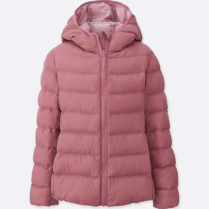GIRLS LIGHT WARM PADDED PARKA | Tuggl