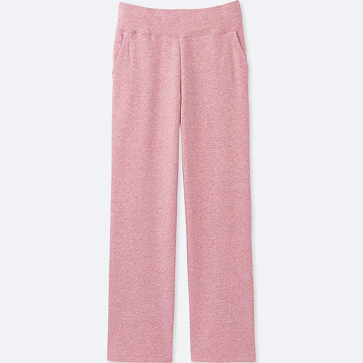 WOMEN ULTRA STRETCH LOUNGE PANTS, PINK, large