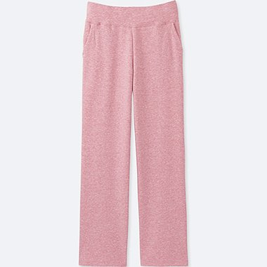 WOMEN ULTRA STRETCH LOUNGE PANTS, PINK, medium