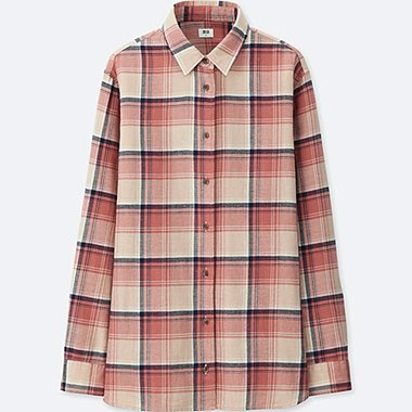Women's Shirts and Blouses Flannel Shirts | UNIQLO US
