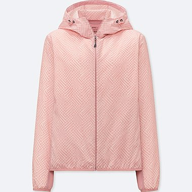 WOMEN SPRZ NY POCKETABLE PARKA (FRANCOIS MORELLET), PINK, medium