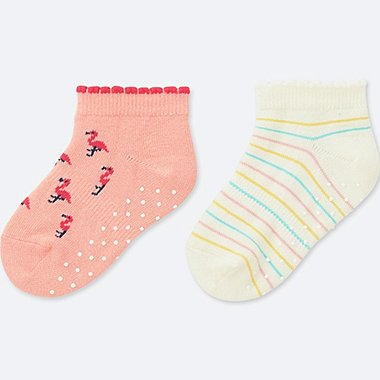 BABY SHORT SOCKS (SET OF 2), PINK, medium