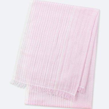 Cotton Linen Stole (Stripe)
