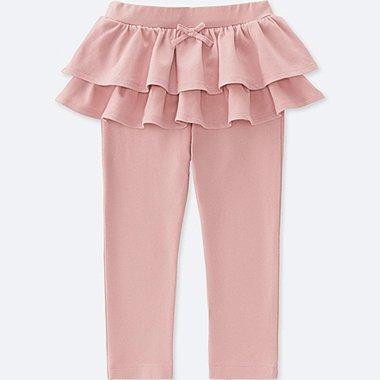 TODDLER FRILL PANTS, PINK, medium