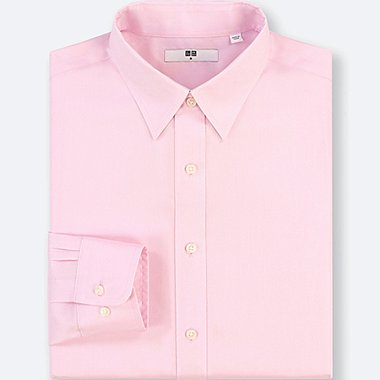 MEN EASY CARE OXFORD REGULAR FIT SHIRT (NO POCKET)