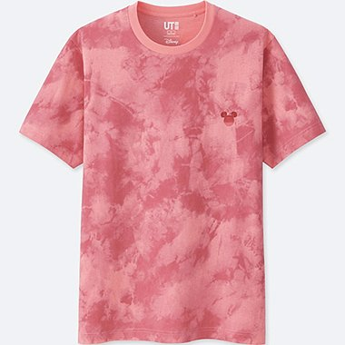 MICKEY & THE SUN SHORT-SLEEVE GRAPHIC T-SHIRT, PINK, medium