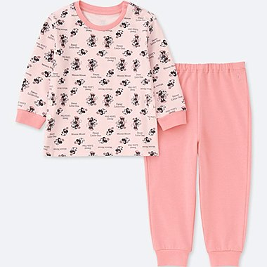 ENSEMBLE PYJAMA MANCHES LONGUES COLLECTION DISNEY BÉBÉ