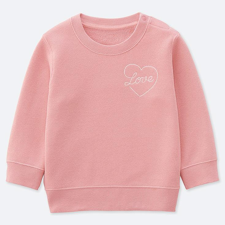 TODDLER PIETER CEIZER LONG-SLEEVE SWEATSHIRT, PINK, large