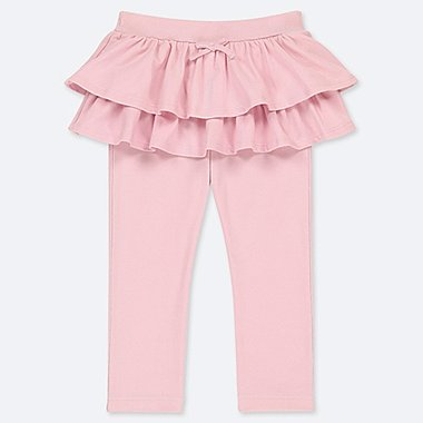 TODDLER FRILL PANTS, PINK, medium
