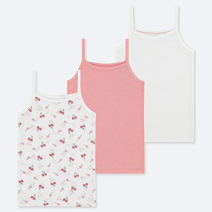 TODDLER COTTON MESH INNER TANK TOP (SET OF 3) (ONLINE EXCLUSIVE), PINK, large