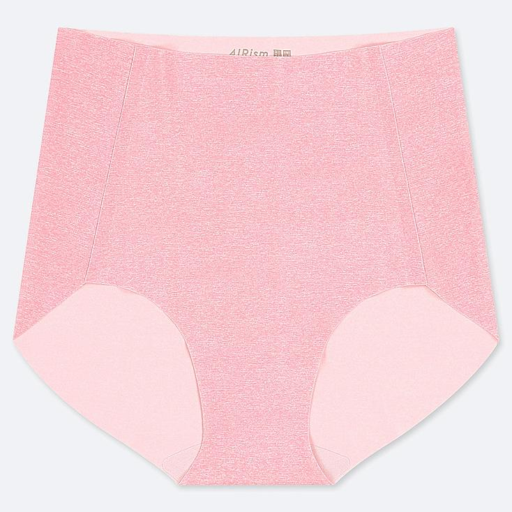 WOMEN AIRism ULTRA SEAMLESS HIGH-RISE BRIEF SHORTS, PINK, large