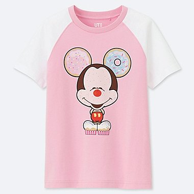 KIDS MAGIC FOR ALL ARCHIVE SHORT-SLEEVE GRAPHIC T-SHIRT (MICKEY 100), PINK, medium