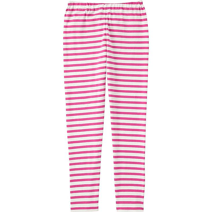 Girls Leggings, PINK, large