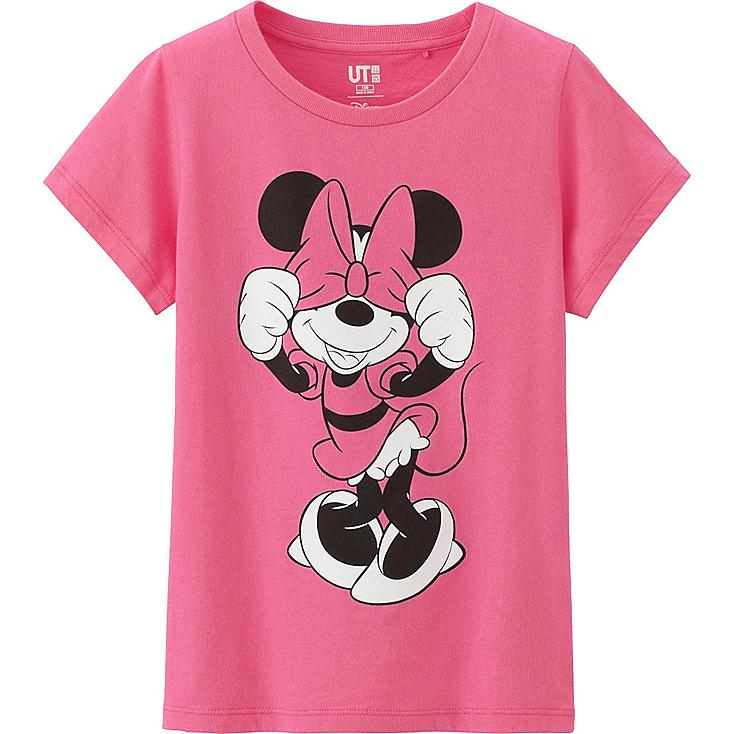 Girls Disney Project Graphic Tee, PINK, large