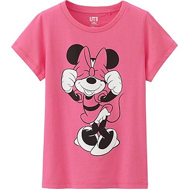 Girls Disney Project Graphic Tee, PINK, medium