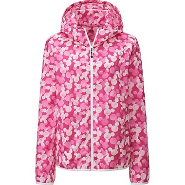 Women Disney Project Packable Parka, PINK, medium