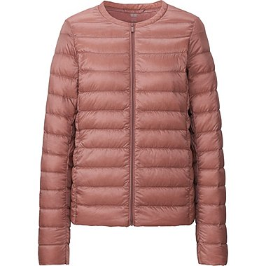 WOMEN ULTRA LIGHT DOWN COMPACT JACKET, PINK, medium