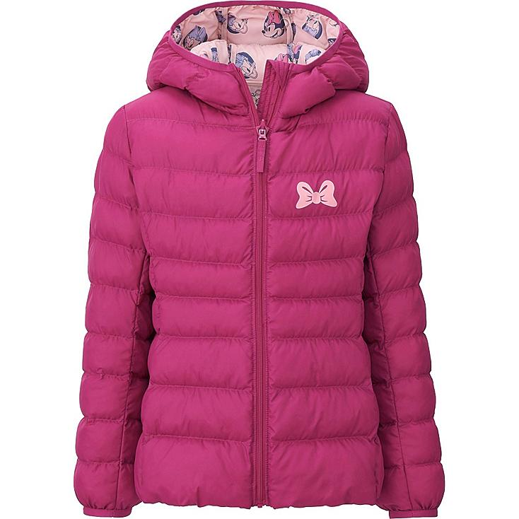 GIRLS Disney Collection Light Warm Padded Parka