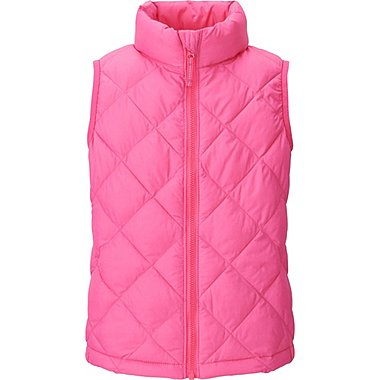 GIRLS Light Warm Padded Vest