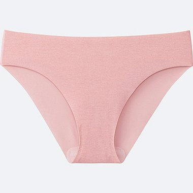 WOMEN ULTRA SEAMLESS SHORTS (BIKINI), PINK, medium