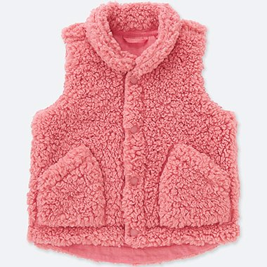 BABIES TODDLER FLUFFY YARN VEST